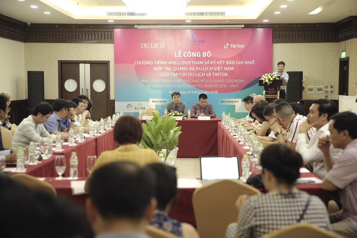 Du lịch Ninh Bình tham dự Lễ công bố Chương trình #HelloVietnam quảng bá du lịch Việt Nam bằng video ngắn