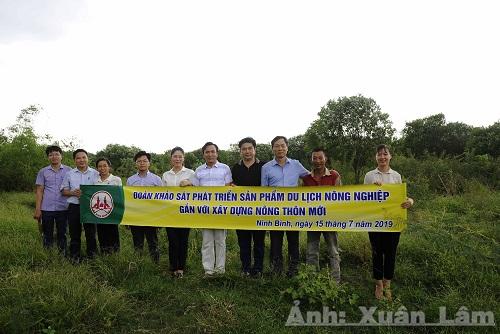 Khảo sát phát triển sản phẩm du lịch nông nghiệp gắn với xây dựng nông thôn mới tại xã Gia Lạc, huyện Gia Viễn