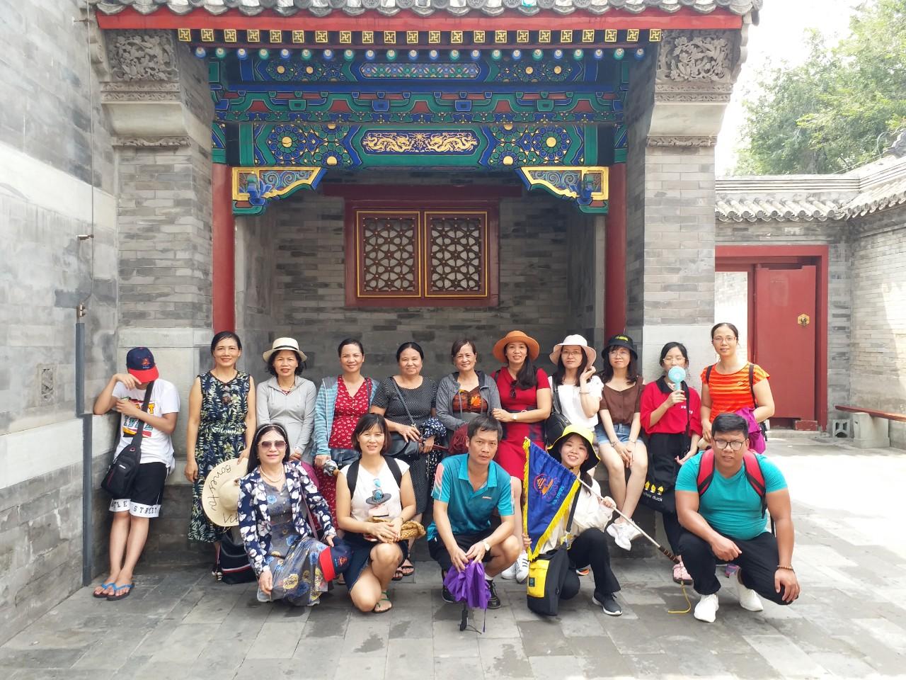 Hành trình Bắc Kinh 23-26/7/2019
