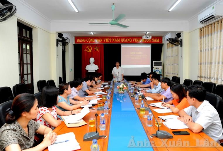 Sở Du lịch tổ chức Hội nghị sơ kết công tác 6 tháng đầu năm và triển khai nhiệm vụ 6 tháng cuối năm 2019