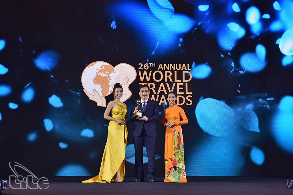 """Du lịch Việt Nam 2 năm liên tiếp đạt giải thưởng """"Điểm đến hàng đầu châu Á"""" của World Travel Awards"""