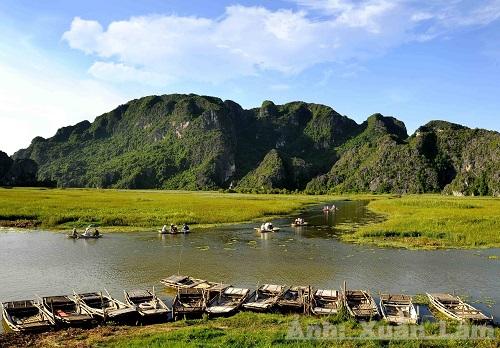 Về Ninh Bình ghé thăm khu Ramsar thứ 9 của Việt Nam – đầm Vân long
