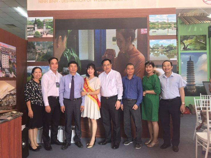 Giới thiệu, quảng bá Năm du lịch quốc gia 2020 – Hoa Lư, Ninh Bình tại Hội chợ du lịch quốc tế VITM Cần Thơ 2019