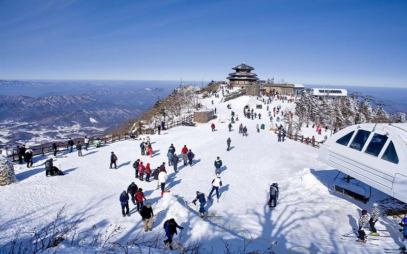 Khu trượt tuyết Yangijpine