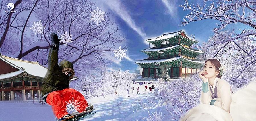 Khám phá  NOEL Hàn Quốc 2019  – HÀ NỘI – SEOUL –  NAMI – EVERLAND