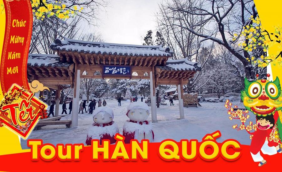 Đón tết Hàn Quốc 2020: SEOUL – LOTTE WORLD – YANGJIPINE