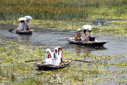 Phát triển du lịch nông nghiệp, nông thôn gắn với xây dựng nông thôn mới