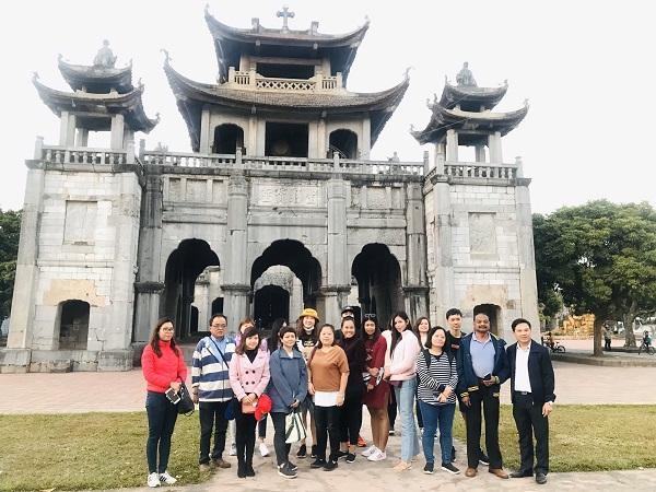 Đón đoàn báo chí, doanh nghiệp từ thị trường Asean đến khảo sát du lịch tại Ninh Bình