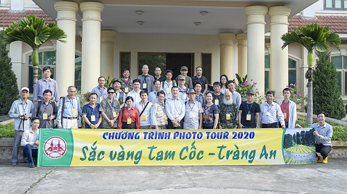 """Ninh Bình tổ chức Chương trình Phototour """"Sắc vàng Tam Cốc – Tràng An"""" năm 2020"""