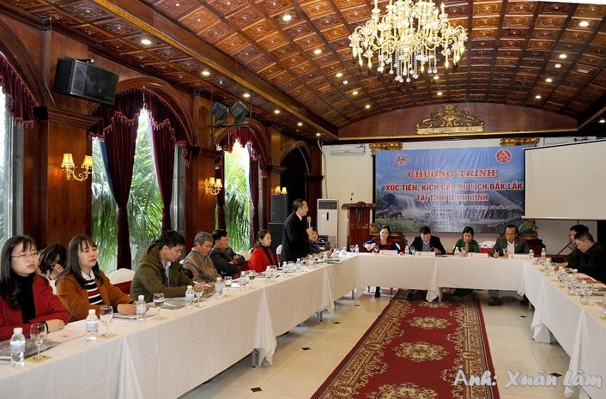Đắk Lắk tổ chức Chương trình Xúc tiến, kích cầu Du lịch tại tỉnh Ninh Bình