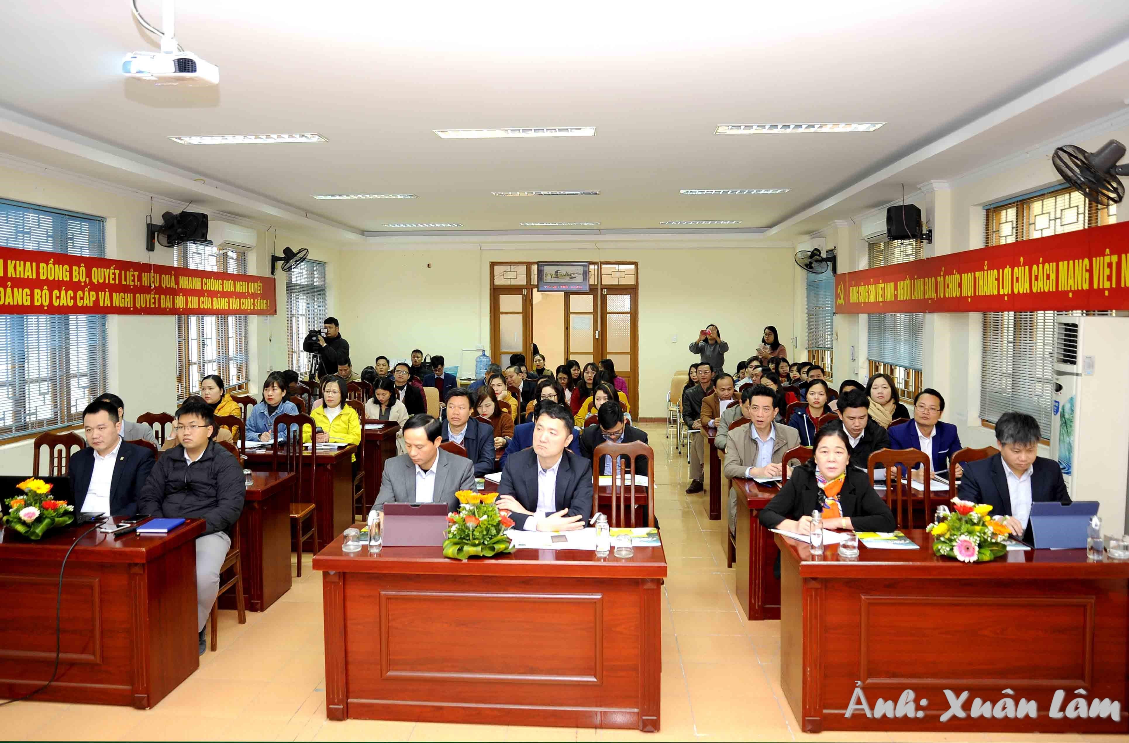 Hội nghị tập huấn ứng dụng chuyển đổi số ngành du lịch Ninh Bình